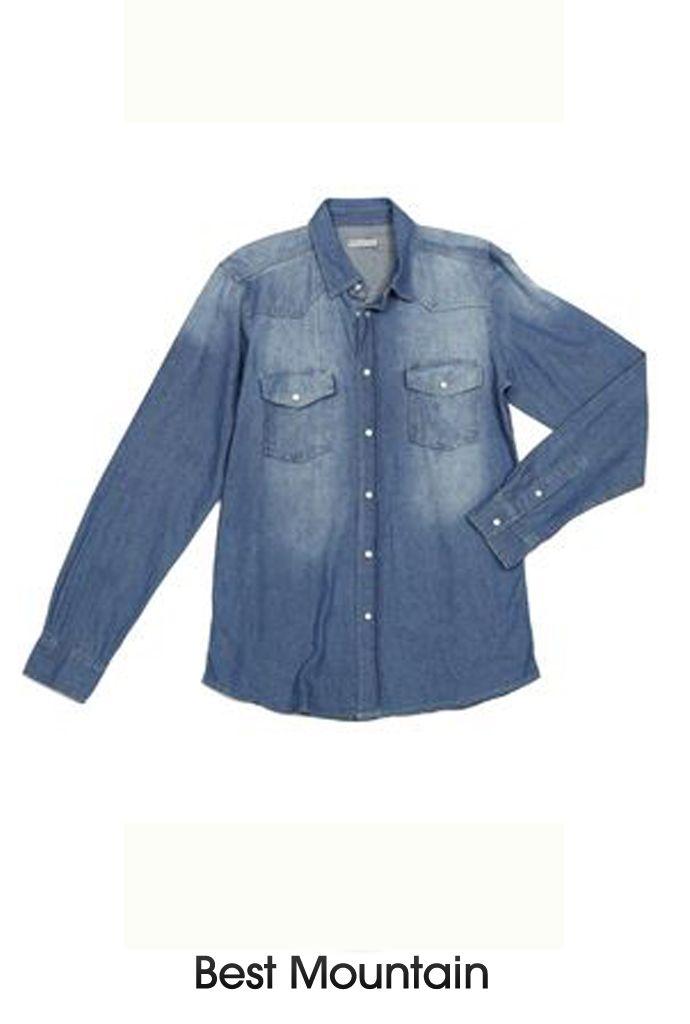 Chemise en denim #chemise #denim #jeans