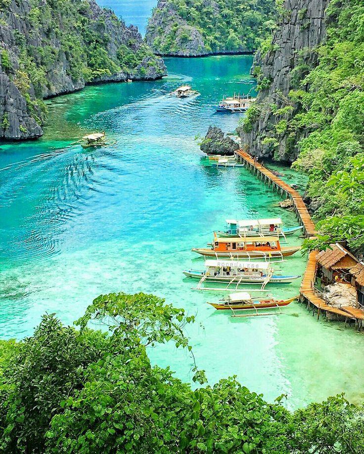 A hidden paradise. Coron island, Philippines