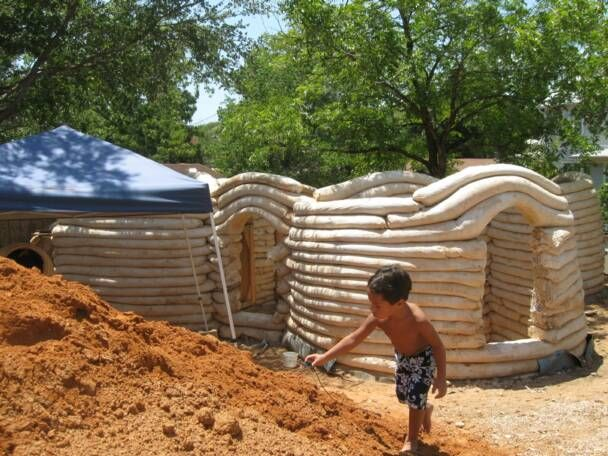 Best Earth Bag Homes Images On Pinterest Earth Bag Homes - Building earthbag house plans free