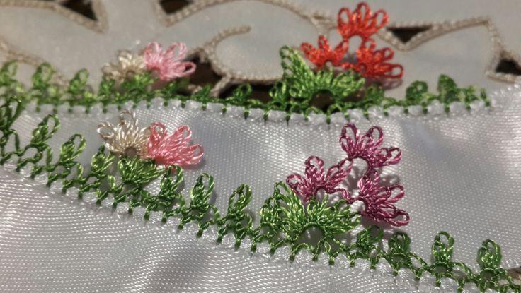 İğne Oyası, Çiçek Buketi Modeli