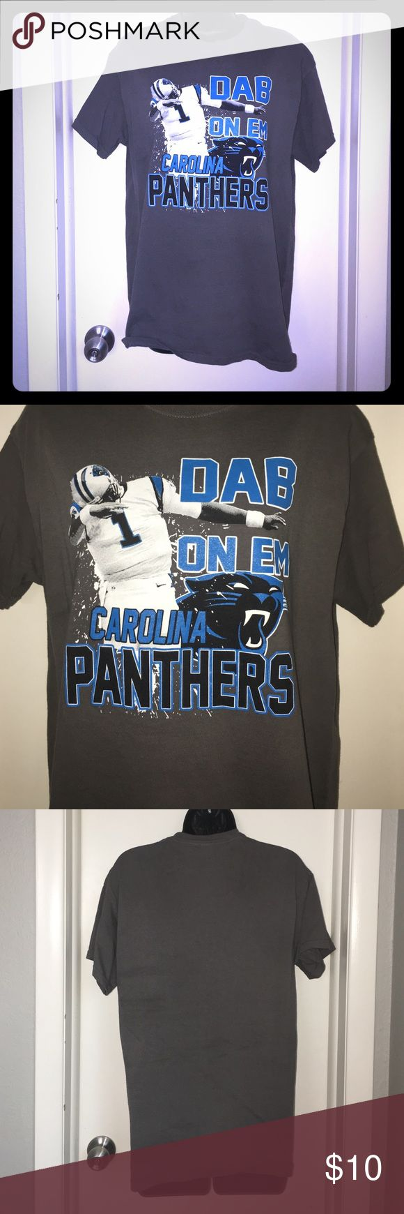 Carolina Panthers Cam Newton T Shirt NFL tee only worn once. In excellent condition Gildan Tops Tees - Short Sleeve