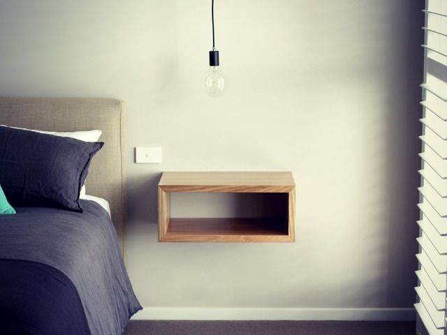 Floating Bedside Furniture by Smith & Thomas - Floating Furniture, Custom Bedsides, Floating Bedsides, Bedsides Tables