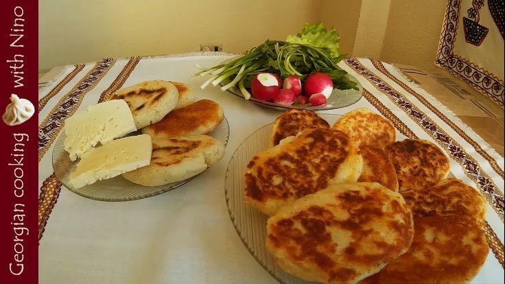 Chadi - maize bread & Chvishtari