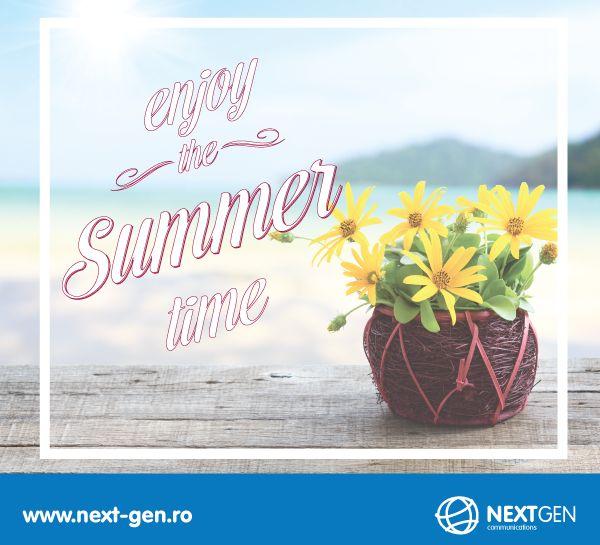 Sa ne bucuram de vara si de soare!