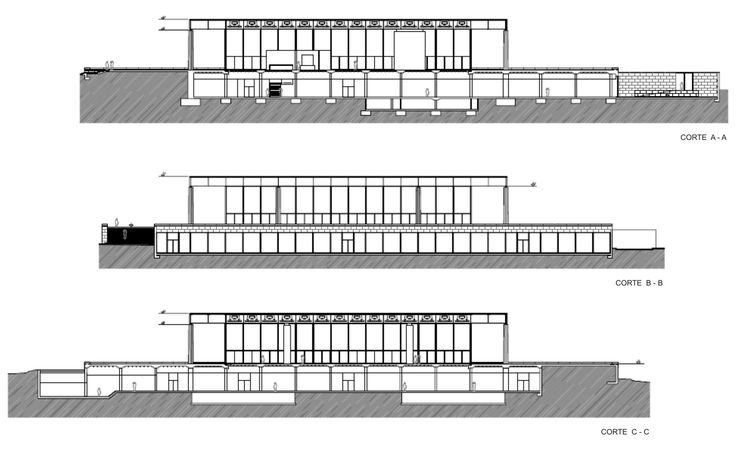 Nowa galeria narodowa rohe section szukaj w google for Pavillon moderne construction