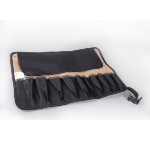 10-Pocket-Chef-Knife-Roll-Bag-Chef-Carving-knife-Carry-Case-Canvas-Tool-Roll-Bag
