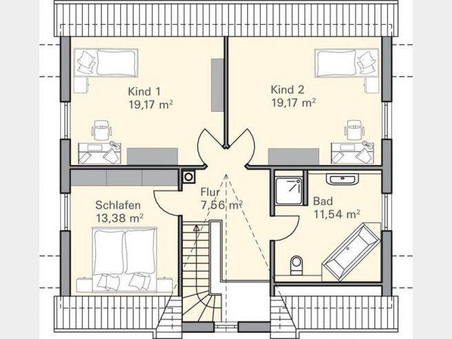 110 besten grundriss f rs traumhaus floor plans bilder for Architektenhaus grundriss