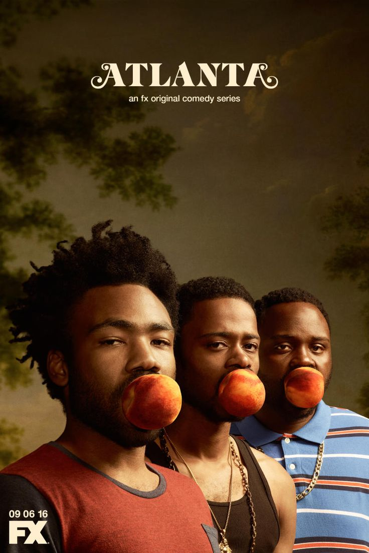 Exclusive donald glover s atlanta takes a bite out of georgia in first poster comedy tv seriesdonald