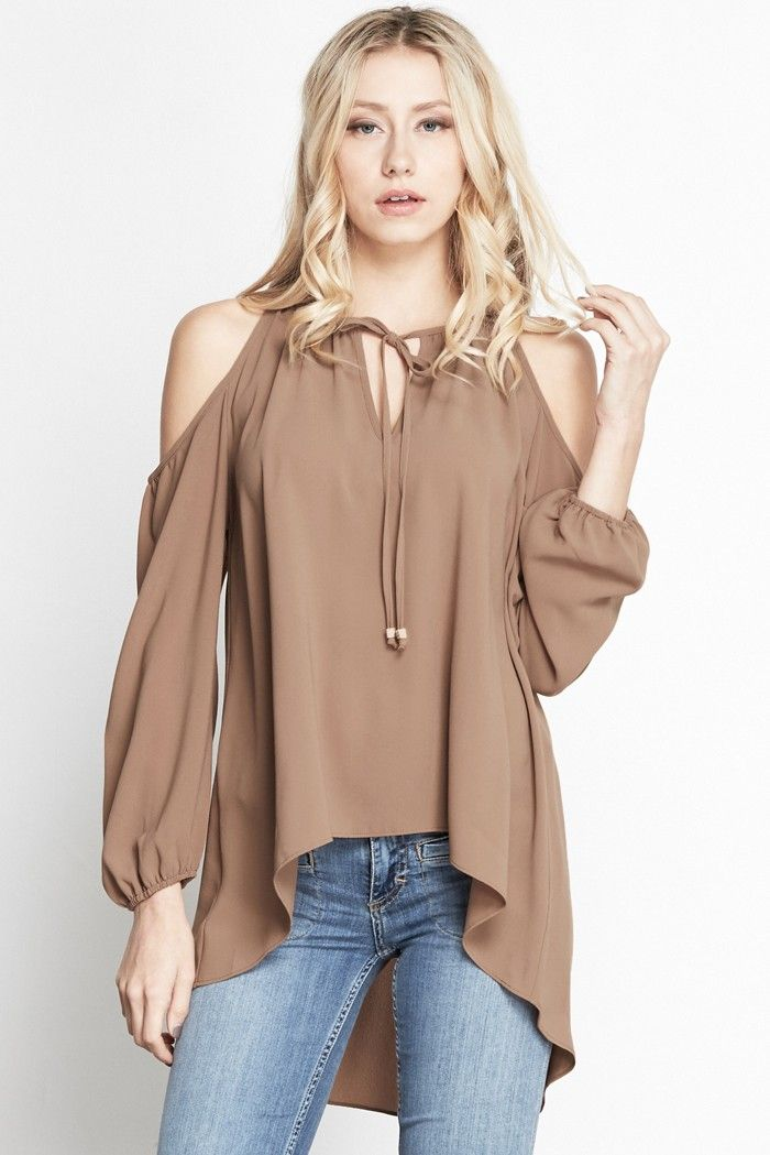 PoshSquare Boho Fest || Mocha Sydney Cold Shoulder Top|| Shop the collection: http://poshsquare.com/mocha-sydney-cold-shoulder-top.html
