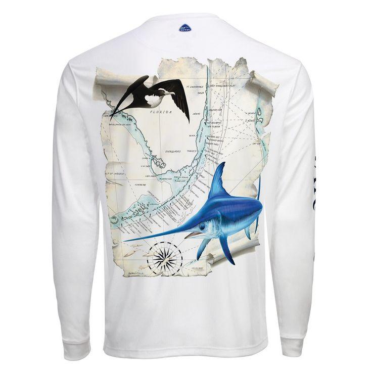 Men's OTP UV Shirt: Florida Keys Swordfish