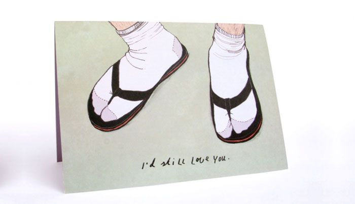 OK, some of these are actually pretty funny and cute. awkward-funny-couple-love-cards-36