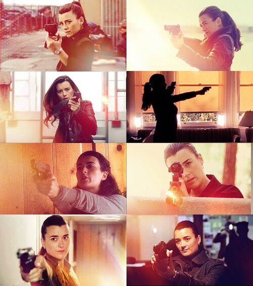 Ziva David is amazing...and one of my prolly unrealistic role models...