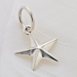 Palas Faceted Star Charm