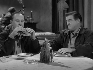 Starring:  Bud  Abbott,  Lou  Costello  and  Marie  Windsor