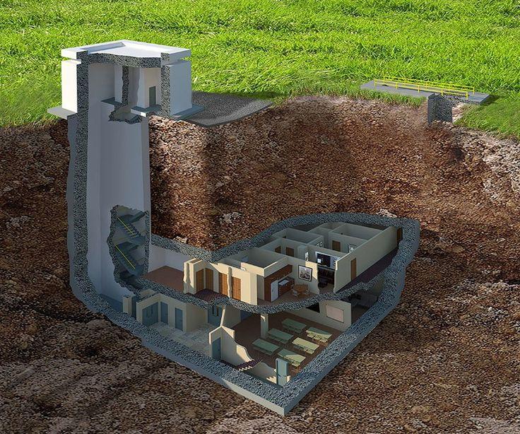 Este lujoso búnker nuclear cuesta 17,5 millones de dólares pero te sorprenderá lo que esconde en su interior - https://arquitecturaideal.com/lujoso-bunker-te-sorprendera-lo-esconde-interior/