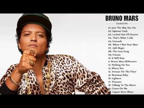 Bruno Mars Best Songs - Bruno Mars Greatest Hits 2018 - YouTube