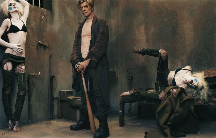 Photo by Steven Klein - L'Uomo Vogue, September 2003
