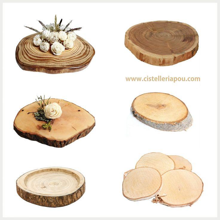 20 best bases para centros de mesa troncos de abedul for Mesas de troncos de madera