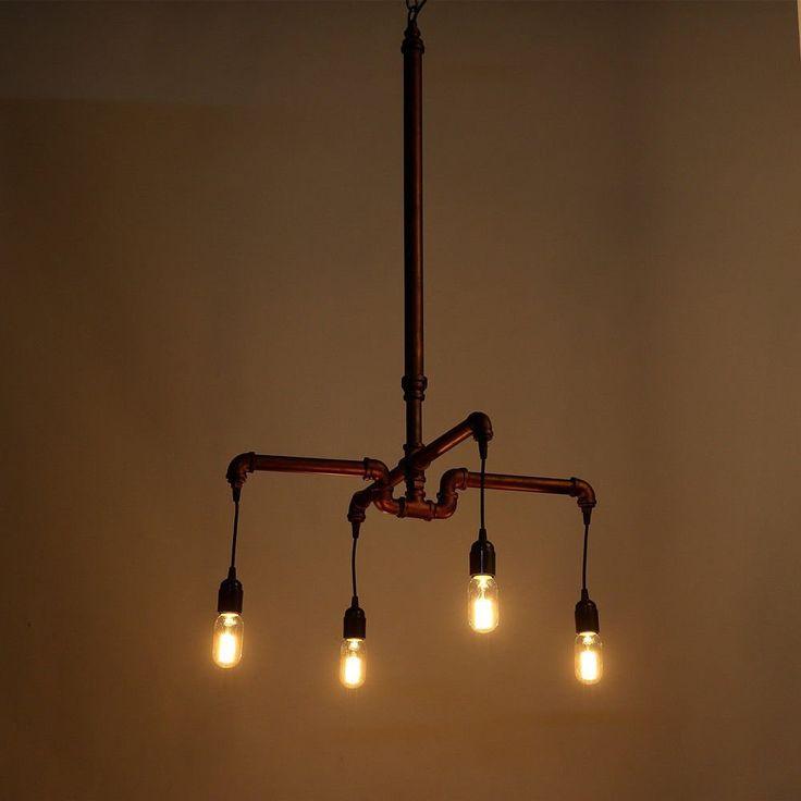 ber ideen zu edison lampe kronleuchter auf pinterest edison lampen kronleuchter und. Black Bedroom Furniture Sets. Home Design Ideas