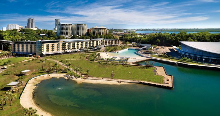 Darwin Waterfront view