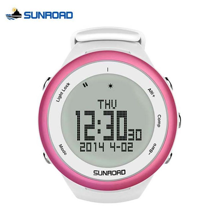SUNROAD Outdoor Climbing Camping Watch Pedometer Barometer Altimeter Compass Waterproof Digital Smart Sports Watch FR852 * Shop now for Xmas. View this trendy piece in details on  AliExpress.com. Just click the image. #yulelogcake