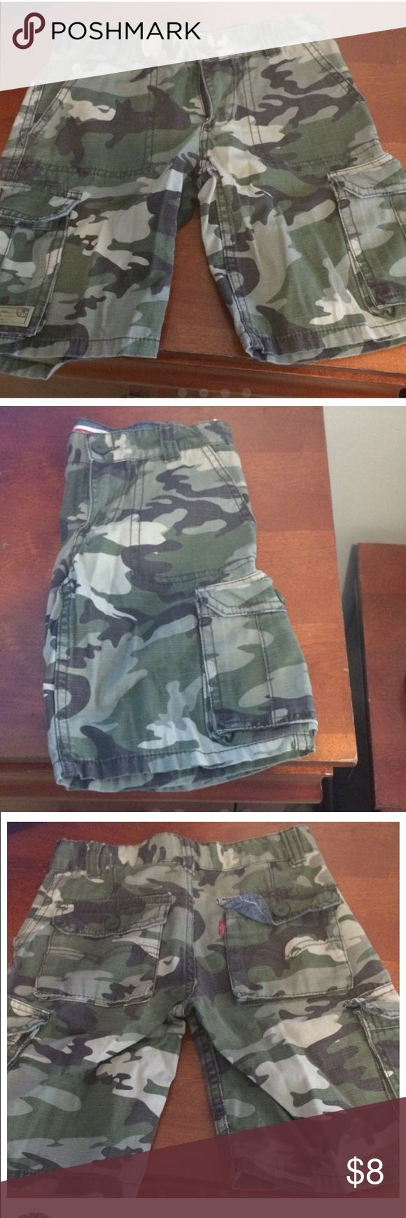 Army Shorts Cargo Style Army Fatigue Shorts Levi's Bottoms Shorts
