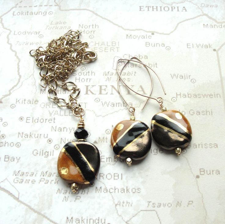 57 Best Kazuri Fair Trade Bead Jewelry Images On Pinterest