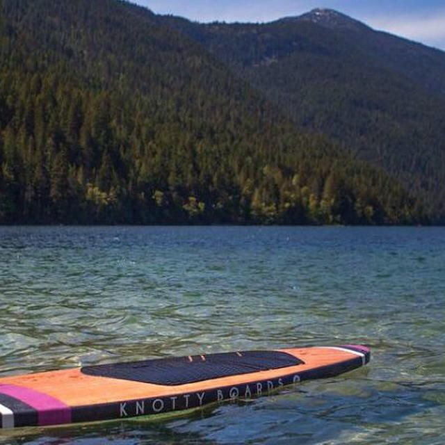 knotty boards hollow cedar strip  stand up paddle boards manufactured in the Kootenays   www.knottyboards.ca