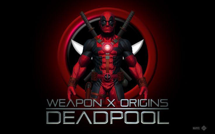 weapon x origins deadpool logo wallpapers hd