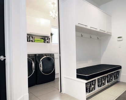 Willowgrove Laundry Room, Contemporary Laundry Room