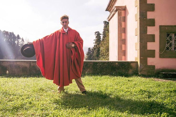 Tabarro in Panno Casentino - Tabarro Casentino Cloth