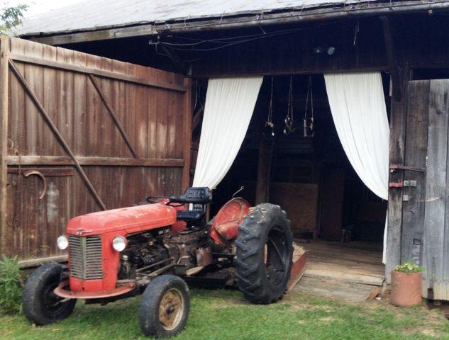 Barn door and old tractor   Barn door, Old tractor, Tractors