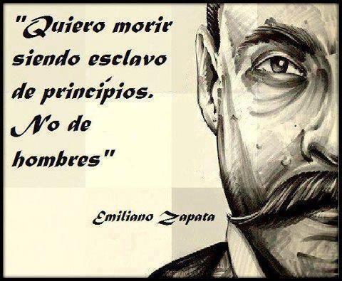 ... ser un hombre de principios!