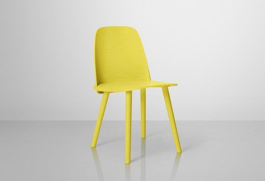 Nerd Chair in yellow by Muuto, available at Tempo Berlin. http://www.tempoberlin.com