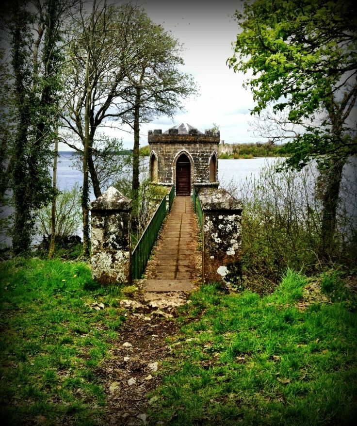 North Ireland The Temple at Lough Key Forest Park, Co. Roscommon with Castle Island in the background. Photo: Sarah O'Neill