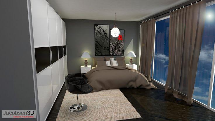 Vray - renderizando interior de habitación 1