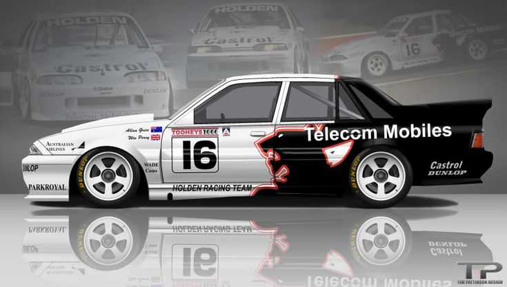 VL Commodore, Bathurst winner 1990. There were only two V8s entered that year against the might of the turbo R32 Nissan Skyline Godzillas and Ford Sierra RS500s, and against the odds, Win Percy and Allan Grice took the Holden V8 to victory. My favourite win of all time.