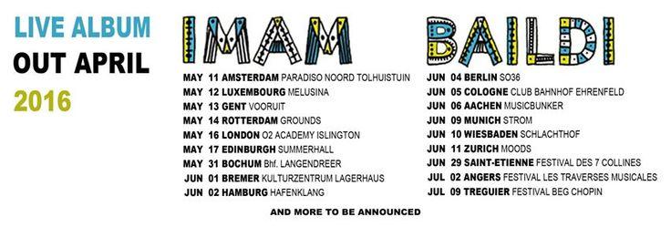 Imam Baildi Eurotour! #imambaildi #europe #imamabailditour