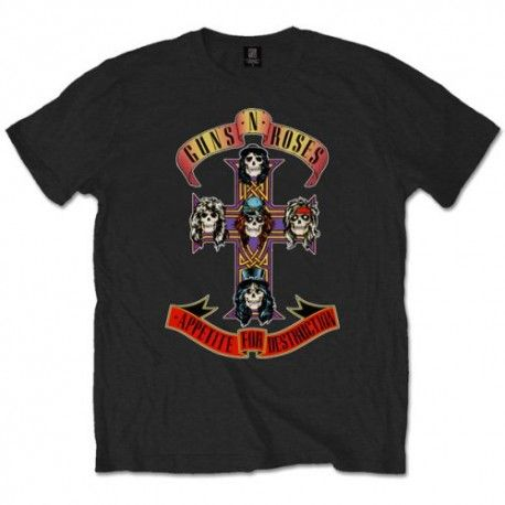 Tricou Guns N' Roses: Appetite for Destruction