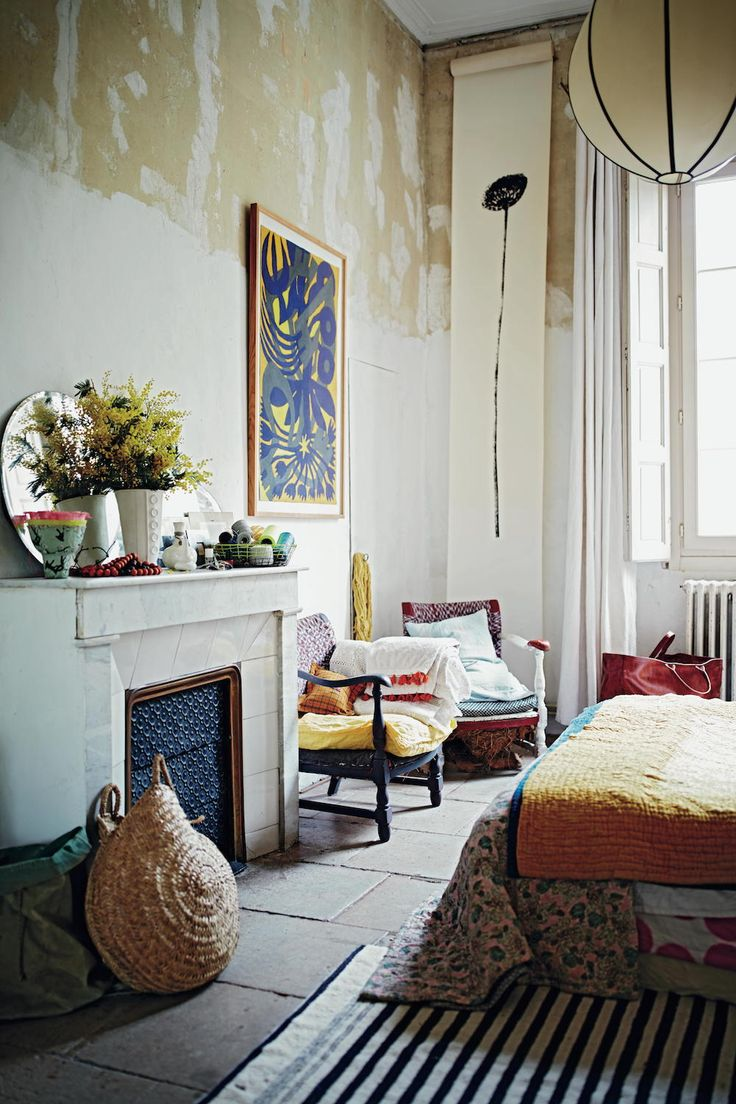 L'APPARTEMENT Half painted walls in Life Unstyled book by Emily Henson