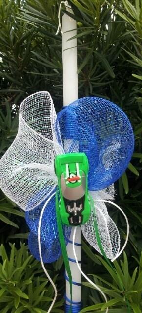 Boys Toy Car Easter Candle, $25.00 at Greek Wedding Shop ~ http://www.greekweddingshop.com