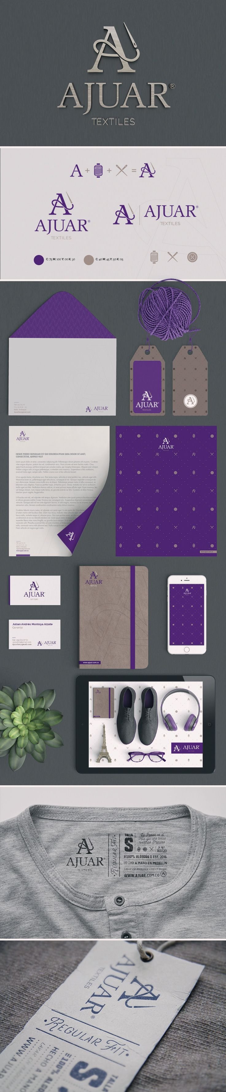 AJUAR Branding By WAVE STUDIO