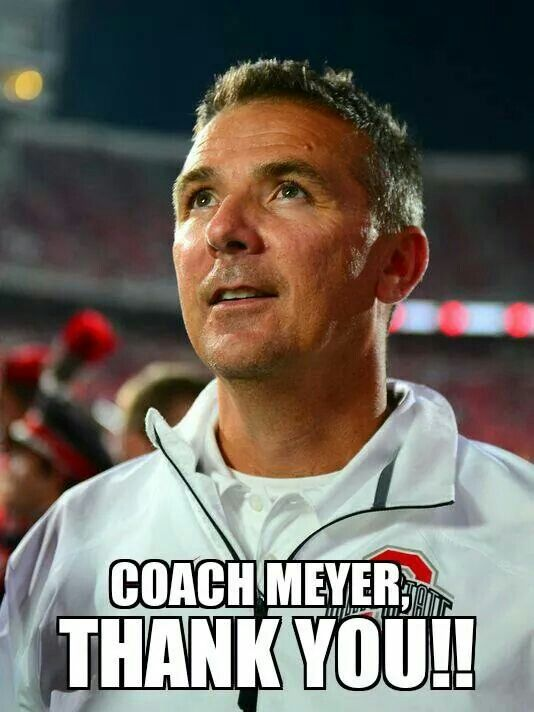 Ohio State Football .... Coach Urban Meyer