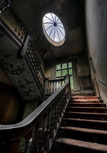If these stairs could tell their stories...