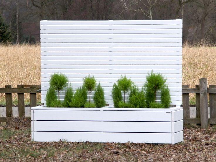 Ber ideen zu pflanzkasten holz auf pinterest for Moderner holzzaun