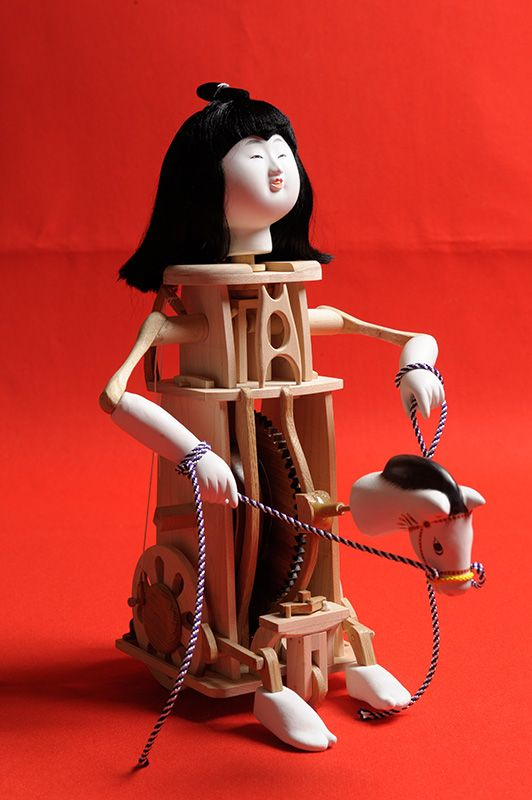 The mechanical dolls of the Edo period, called karakuri ningyō, were the starting point of Japan's love affair with robots. The intricate clockwork motors inside dolls create playful, realistic movements that capture the imagination and inspire affection.