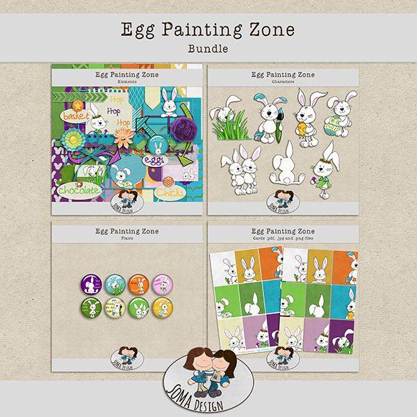 SoMa Design Egg Painting Zone Bundle