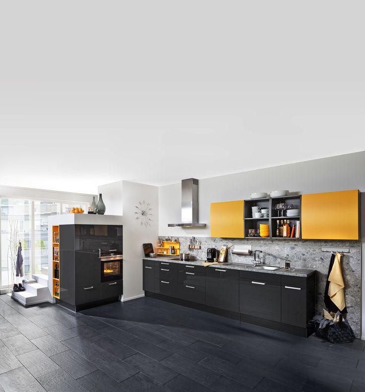 61 best Design ideas kitchens images on Pinterest Showroom - moderne einbaukuche tipps funktionelle gestaltung