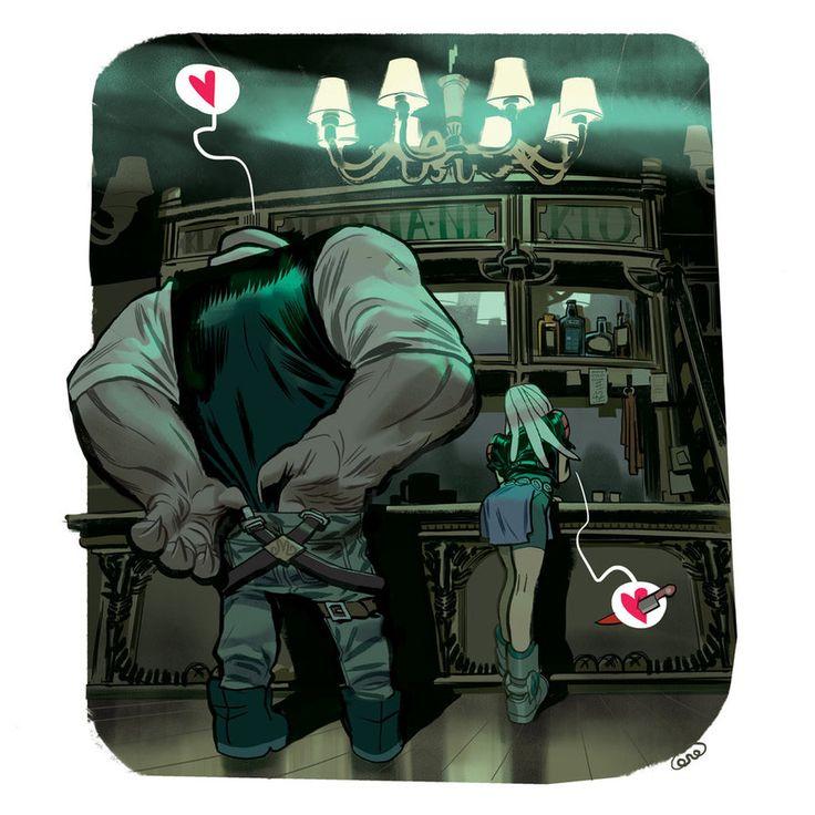 Bar Romance. by dietrock on deviantART