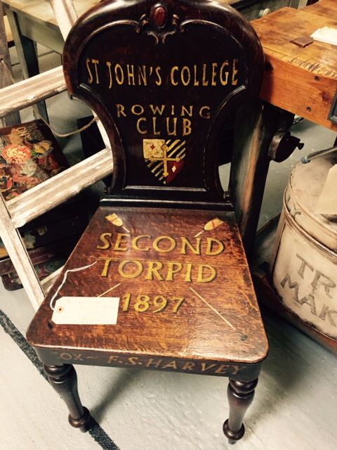 Beautiful Signwritten Chair Antique Wooden Chair By Paul Howes For Sale Holt Antiques  U0026 Interiors Centre Norfolk